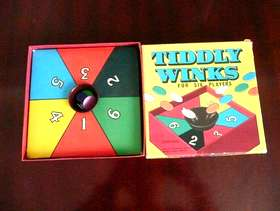 Freecycle Vintage Spears Tiddlywinks Game
