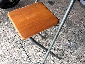 Freecycle Folding kitchen/ bar stools £10