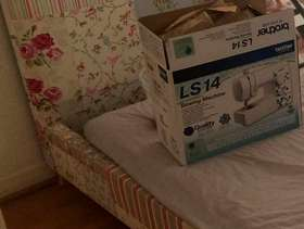 Freecycle Dfs king size bed