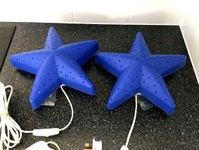 Freecycle Two IKEA SMILA STJÄRNA star wall lamps. £5 for both
