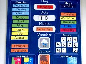 Freecycle A Colourful and Magnetic Calendar
