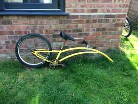 Freecycle Child's bike which attaches to adult bike