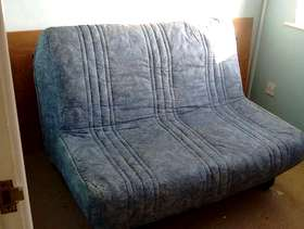 Freecycle Sofa bed - makes a small double bed