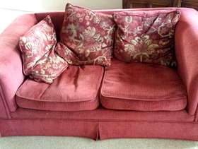 Freecycle Settee and armchair