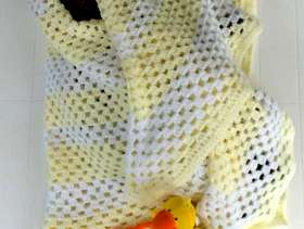 Freecycle Baby cover and toy duck