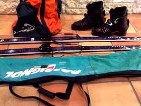 Freecycle Mens Cross Country Boots/Skis