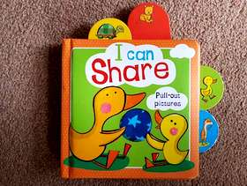 Freecycle 'I Can Share' (Pull Out Pictures) Book (1+) - £2