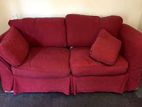 Freecycle Sofa with soft covers