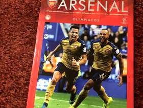 Freecycle Arsenal match programme 2015