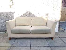 Freecycle Cream sofa