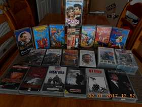 Freecycle FREE 24 VHS Videos in excellent condition all in original ...