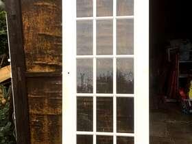 Freecycle Internal clear glazed door