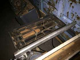 Freecycle Craftsman 1950s 220 volt table saw