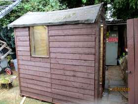 Freecycle Garden Shed 6ft by 4ft