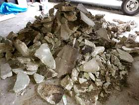 Freecycle Free concrete chunks