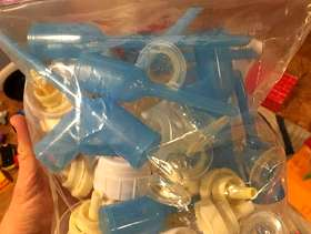 Freecycle Dr Brown baby bottles and accessories