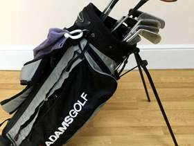 Freecycle Set of women's golf clubs with bag, small carry bag, ...