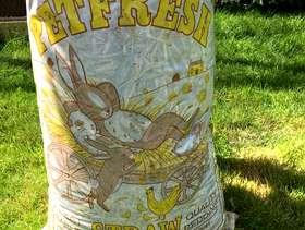 Freecycle Bag of barley straw