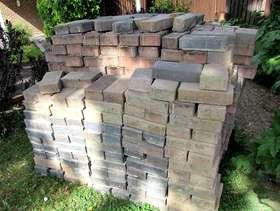 Freecycle Bricks for driveway