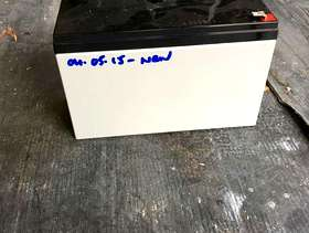 Freecycle Burglar alarm battery. Only two years old.