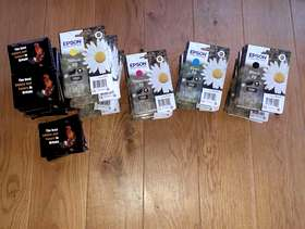 Freecycle Various Epson Ink Cartrides