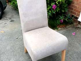 Freecycle Two dining room chairs