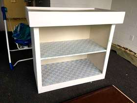 Freecycle Solid Wood Changing Table