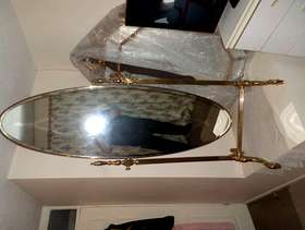 Freecycle Full length gold mirror