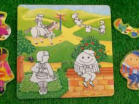 Freecycle Nursery Rhyme Matching Pictures