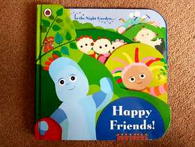 Freecycle In the Night Garden - 'Happy Friends' Book - £2