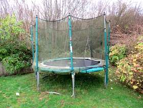 Freecycle Free 10ft Trampoline