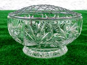 Freecycle Brand New Crystal Rose Bowl