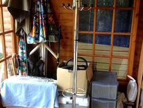 Freecycle Metallic Coat Stand