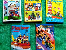Freecycle Vintage Playhour Annuals