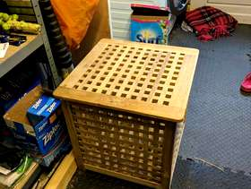 Freecycle IKEA storage table
