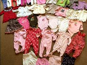 Freecycle 3-6 month baby clothes bundle (set c) - £20.00