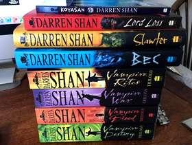 Freecycle Darren Shan Novels