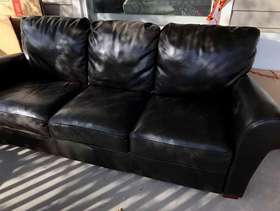 Freecycle Leather couch