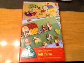 Freecycle ELC felt farm