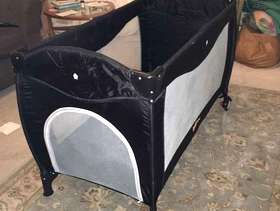 Freecycle Mimas Babyway travel cot