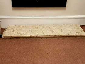 Freecycle Marble hearth