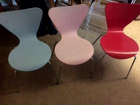 Freecycle Three colourful chairs