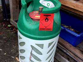 Freecycle Gas bottle for patio heaters and bbq