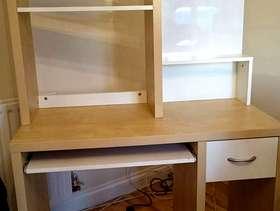 Freecycle Ikea mikael computer workstation