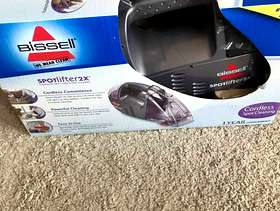 Freecycle NEW IN THE BOX: Bissell Cordless SpotLifter carpet cleaner