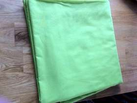 Freecycle Double flat sheet lime green