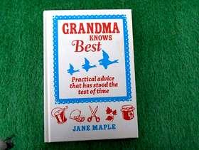 Freecycle Brand new Book Grandma Knows Best