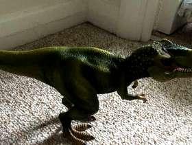Freecycle Dinosaur figure