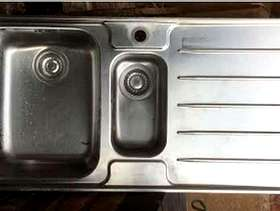 Freecycle Stainless Steel 1.5 sink and drainer