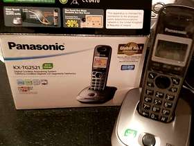 Freecycle Panasonic Cordless Hands free phone